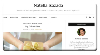 Meltem Technology, Inc. | Natella Isazada website project