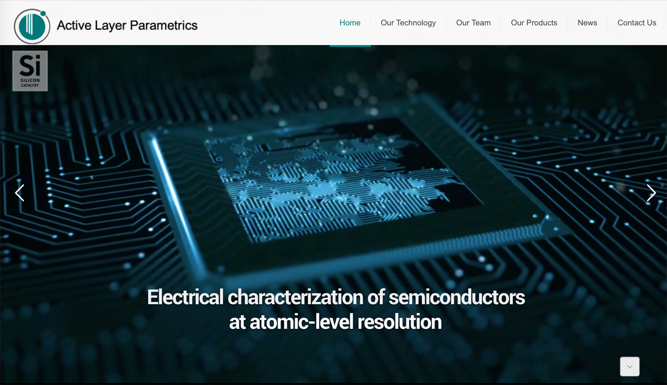 Active Layer Parametrics website design by Meltem Technology, Inc.