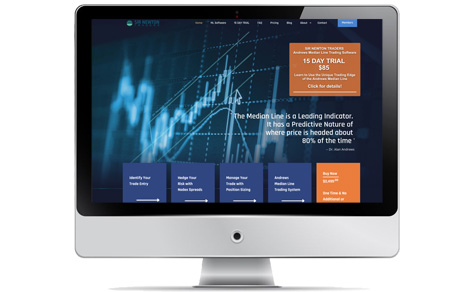 Sir Newton Traders website design by Meltem Technology, Inc.